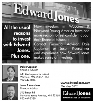 All the Usual Reasons to Invest with Edward Jones