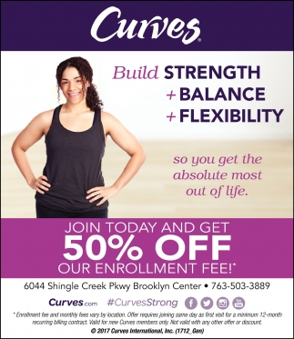 Join Today and Get 50% Off Our Enrollment Fee!