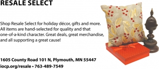 Shop Resale Select for Holiday Decor, Gifts and more