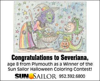 Congratulations to Severiana