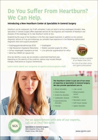 Do You Suffer from Heartburn?