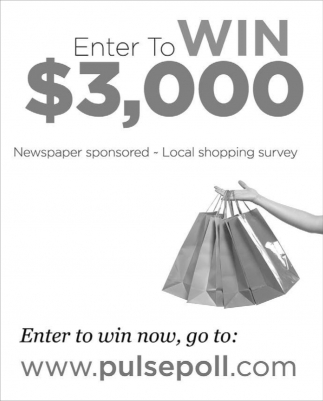 Enter to Win $3,000