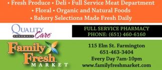 Full Service Pharmacy