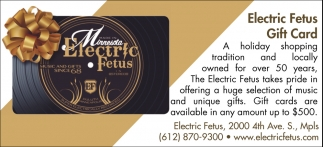 Electric Fetus Gift Card