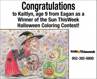 Congratulations to Kaitlyn