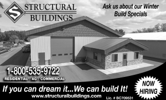 Ask us about Our Winter Build Specials