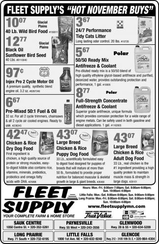 Fleet Supply's