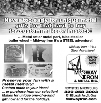 New Steel & Recycling, Midway Iron & Metal Inc, Saint Cloud, MN