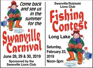 Fishing Contest, Sobieski & Swanville Lions Club, Little
