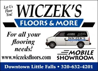 Let Us Floor You!