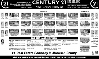 #1 Real Estate Company in Morrison County