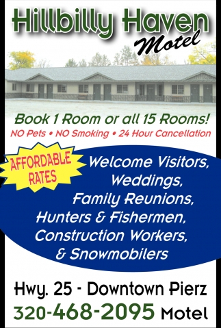 Book 1 Room or all 15 Rooms!