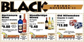 Black Friday, November 23