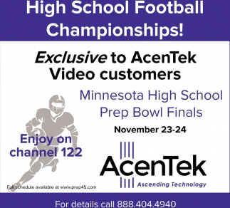 High School Football Championships!