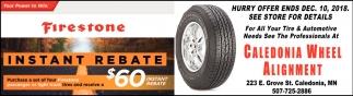 Firestone Instant Rebate