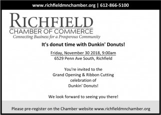 It's Donut Time with Dunkin' Donuts!