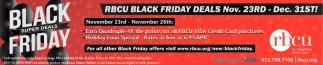 Black Friday Super Deals