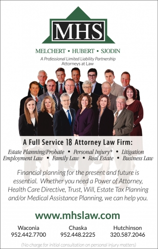 A Full Service 18 Attorney Law Firm