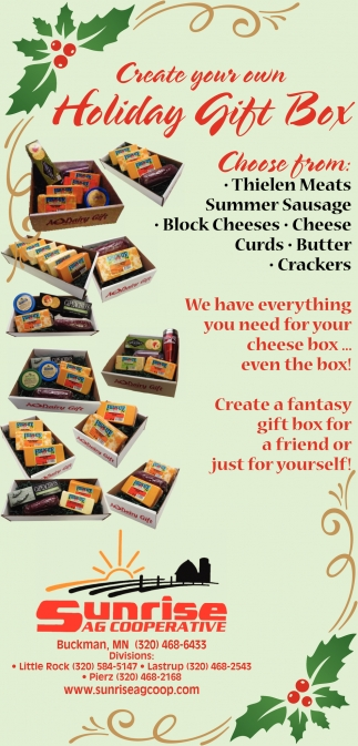 Create Your Own Holiday Gift Box
