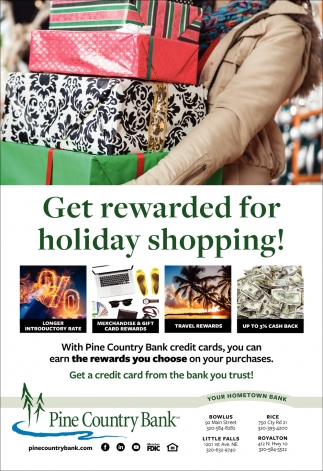Get Rewarded for Holiday Shopping!