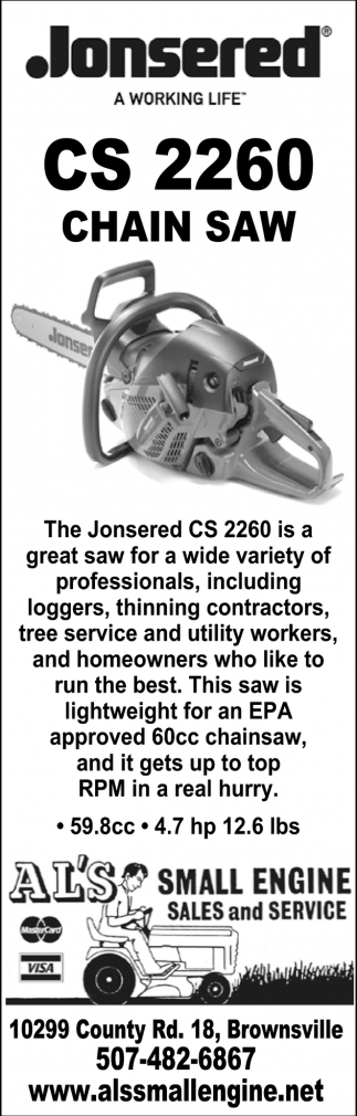 CS 2260 Chain Saw