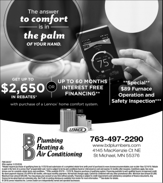 The Answer to Comfort is in the Palm of Your Hand