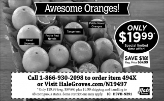 Awesome Oranges!