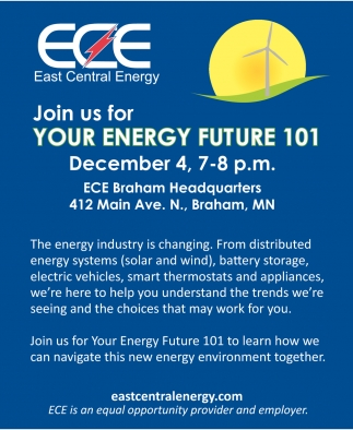 Join us for Your Energy Future 101