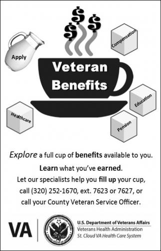 Veteran Benefits, St  Cloud VA Health Care System, St Cloud, MN