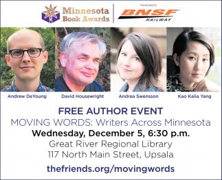 FREE Author Event