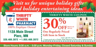 Visit Us for Unique Holiday Gifts and Holiday Entertaining Ideas