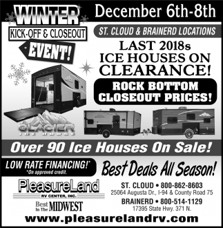 Winter Kick-Off & Closeout Event!
