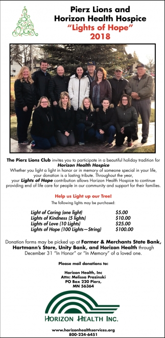 Lights of Hope 2018