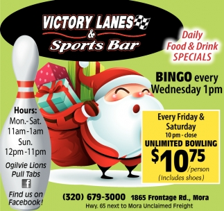 Daily Food & Drink Specials