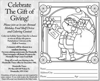 Celebrate the Gift of Giving!