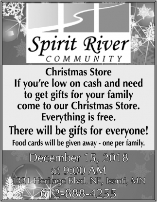 There will be Gifts for Everyone!