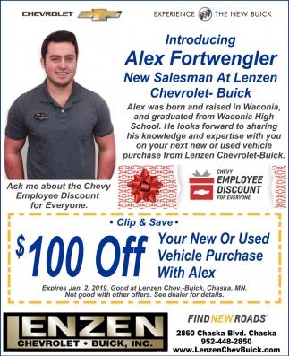 Introducing Alex Fortwengler