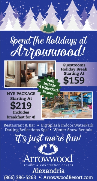 Spend the Holidays at Arrowwood!