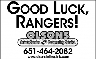Good Luck, Rangers!