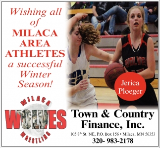 Wishing All of Milaca Area Athletes a Successful Winter Season!