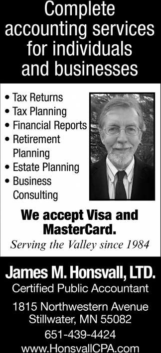 Complete Accounting Services for Individuals and Business