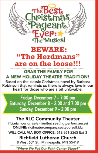 The Best Christmas Peageant Ever: The Musical, Richfield