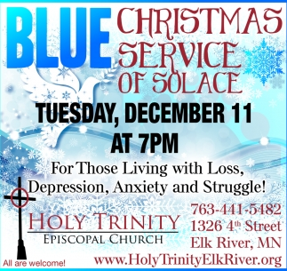 Blue Christmas Service of Solace