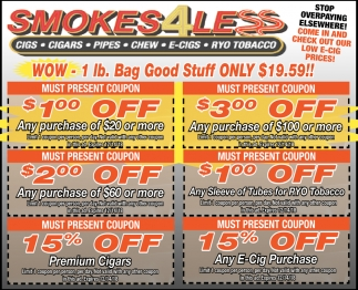 1lb. Bag Good Stuff Only $19.59!
