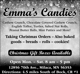 Christmas Gift Boxes Available