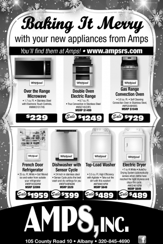Baking it Merry with Your New Appliances from Amps