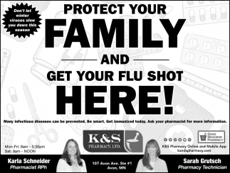 Protect Your Family and Get Your Flu Shot Here!