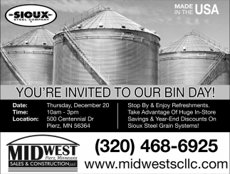 You're Invited to Our Bin Day!