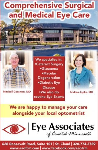 Comprehensive Surgical and Medical Eye Care