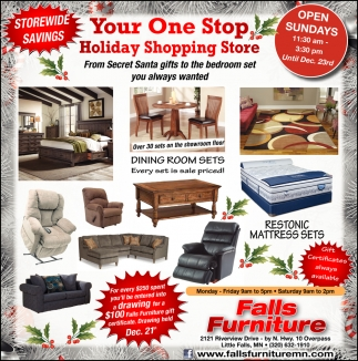 Your One Stop Holiday Shopping Store